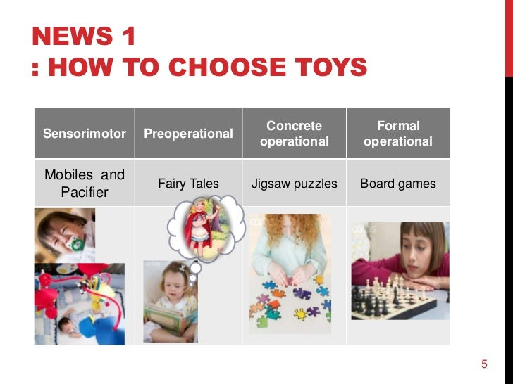 Toys For Developmental Stages : 조 ppt