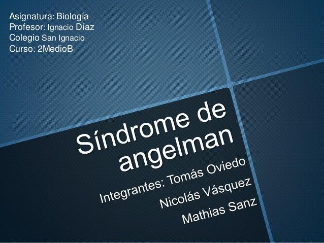 Asignatura: Biología Profesor: Ignacio Díaz Colegio San Ignacio Curso: 2MedioB