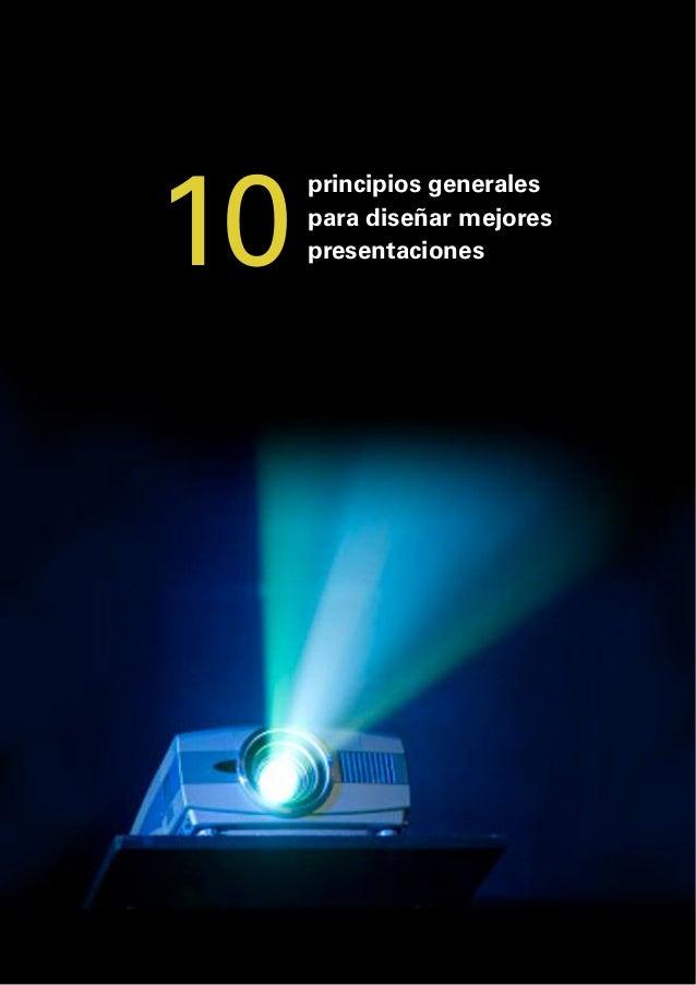 10  principios generales para diseñar mejores presentaciones