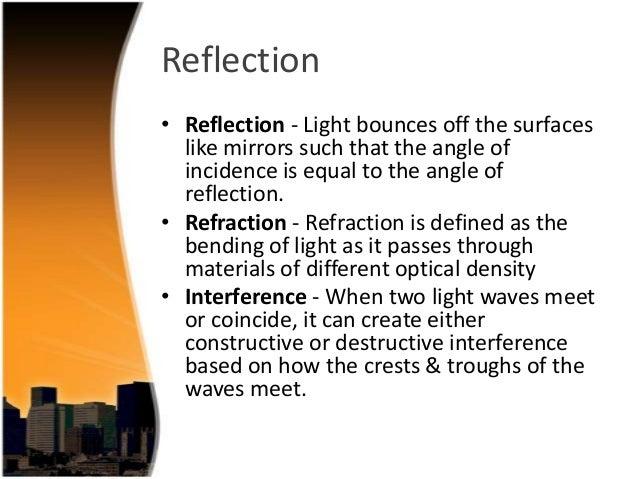 Properties Of Light Etamemibawa