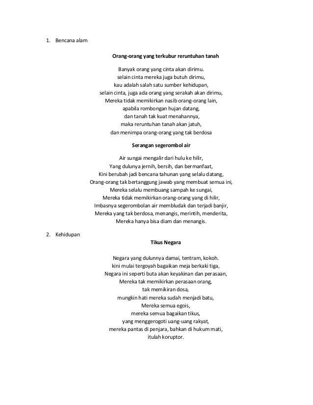 10 Puisi Pak Khoir
