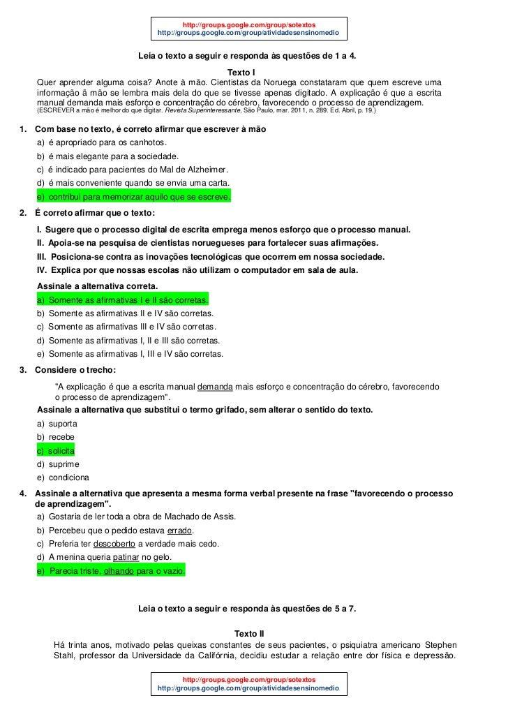 http://groups.google.com/group/sotextos                                             http://groups.google.com/group/ativida...