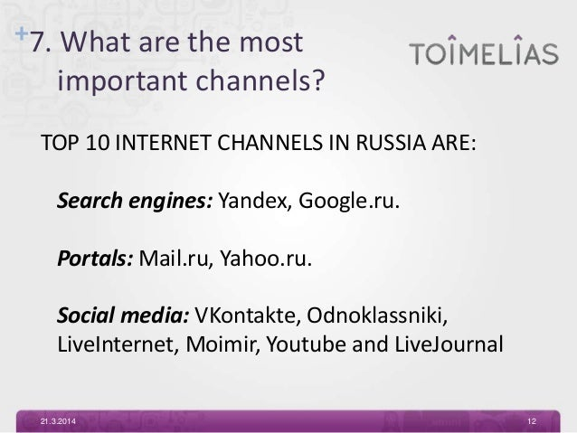 Online marketing in Russia