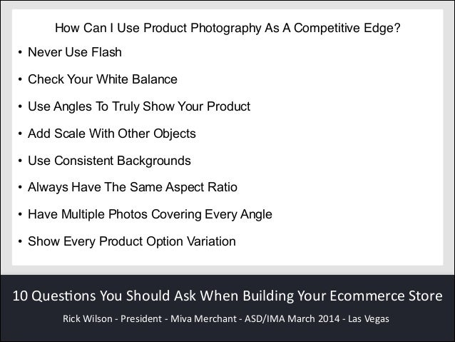 10 questions you should ask when building your ecommerce store for Questions to ask a builder