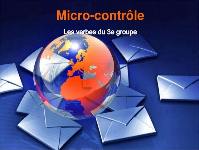 Micro-contrôle