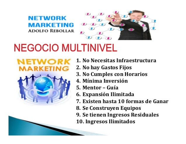 10 razones por que elegir network marketing vs negocio tradicional