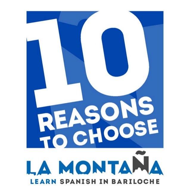 10 reasons to choose La Montaña