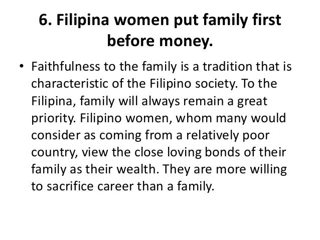 Filipina why woman a marry Don't Marry