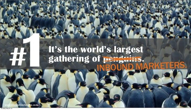 10 Reasons to Sponsor Inbound 2012 Slide 2
