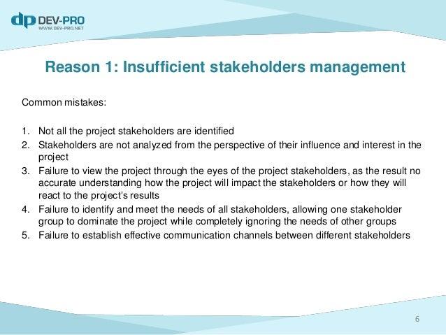 why teams fail to meet their objectives