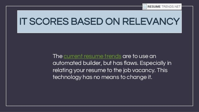 10 reasons why you should never use an automated resume builder