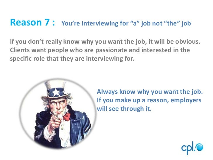 10 Reasons Why You Cannot Get A Job