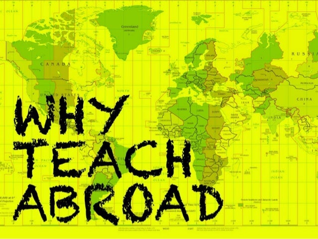 9 Reasons You Need to Start Teaching Abroad