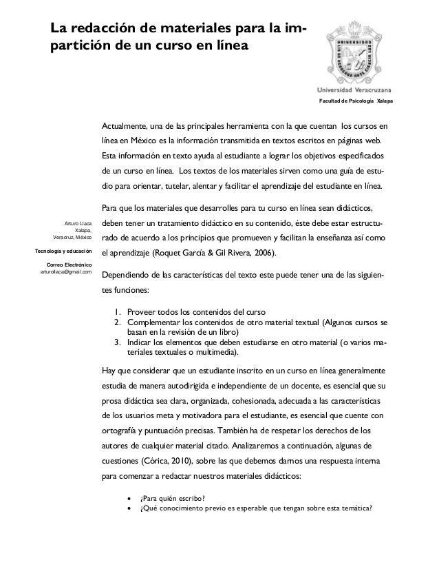 Arturo LlacaXalapa,Veracruz, MéxicoTecnología y educaciónCorreo Electrónicoarturollaca@gmail.comFacultad de Psicología Xa...