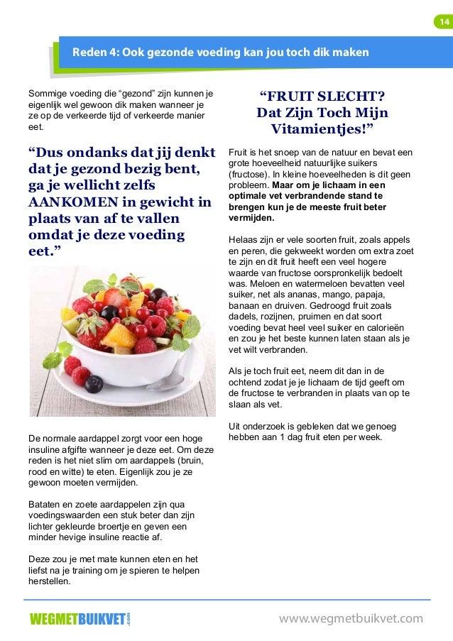 5 kilo afvallen in 1 maand zonder dieet