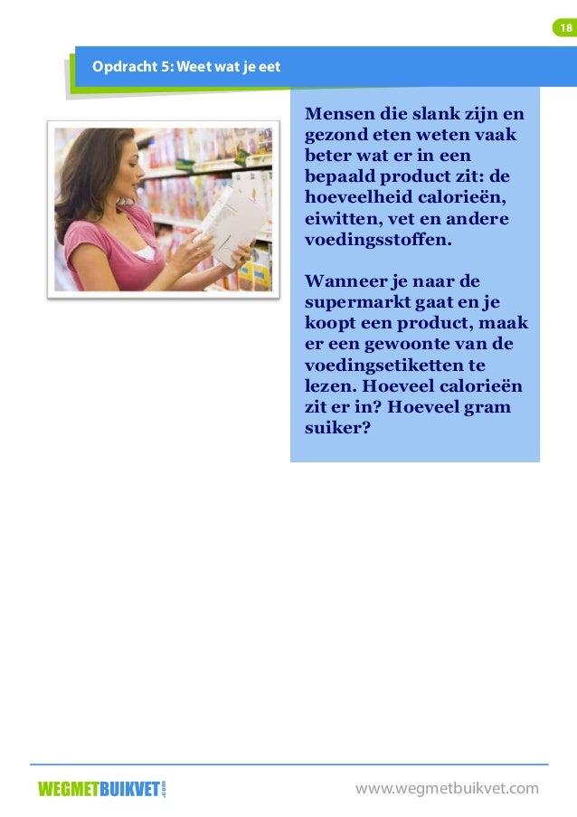 afvallen zonder streng dieet