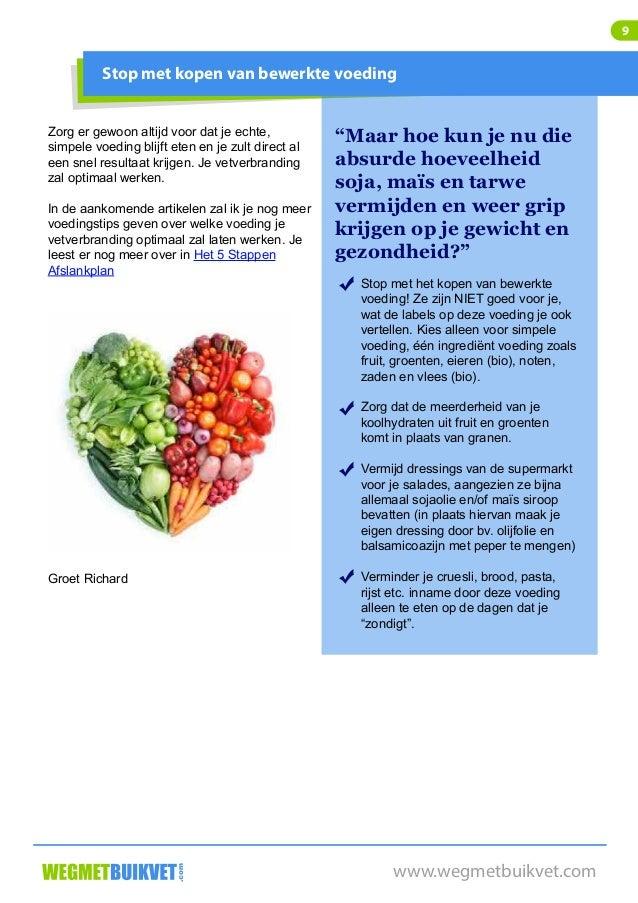 afvallen door geen koolhydraten te eten