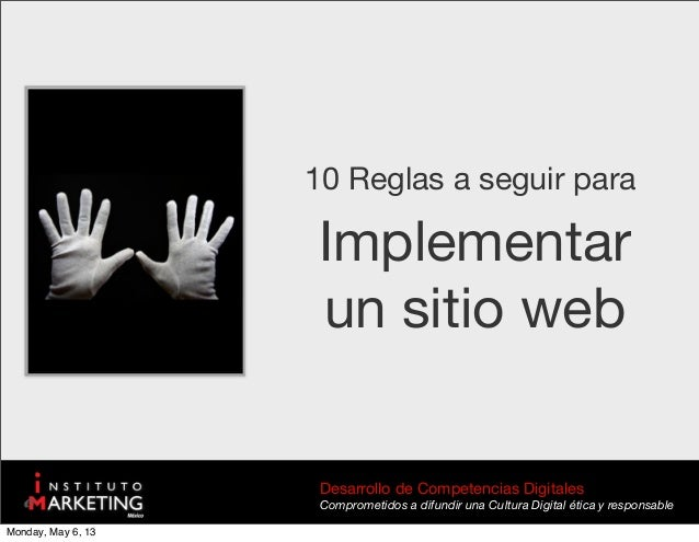 Desarrollo de Competencias DigitalesComprometidos a difundir una Cultura Digital ética y responsableImplementarun sitio we...