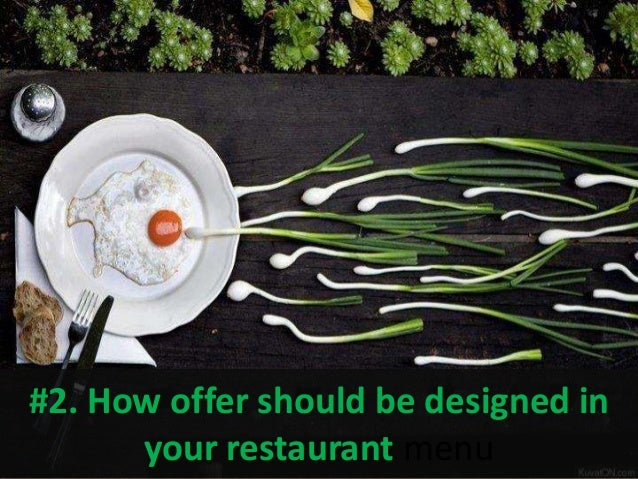 how offer should be designed in your restaurant menu - Restaurant Menu Design Ideas
