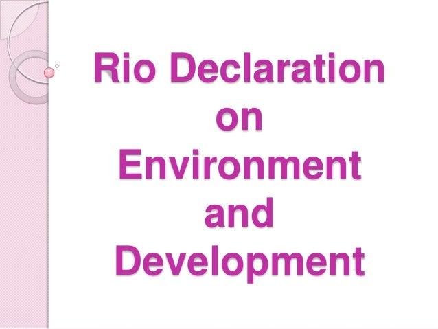 RIO DECLARATION EPUB DOWNLOAD