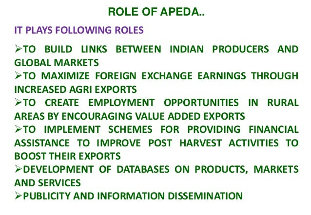 10 role of agencies for promotion of exports of agri products-d