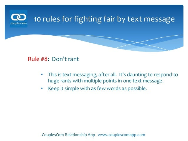10 Rules For Texting And Dating