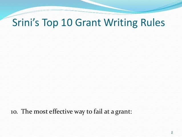 grant writing career Career advice this seminar teaches new investigators how to write a grant application, a skill that is seldom taught to graduate students and postdoctoral scholars the program content is appropriate for senior graduate students, postdoctoral research fellows, and non-tenure track faculty members who aspire to tenure track and have never written a.