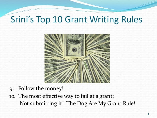 careers in grant writing Jo miller, a founder of two firms focusing on grant writing and professional development writes about how to get into the grant writing profession.