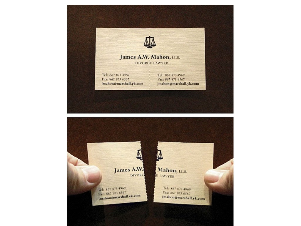 Rule 6 Business Cards Make