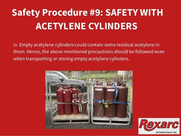 10 Safety Procedures in Acetylene Manufacturing Plants