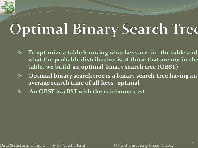 optimal binary search tree example