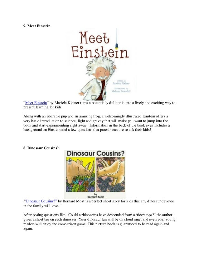 10 short stories for kids ages 4 to 8