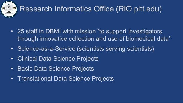 Health Sciences Research Informatics, Powered by Globus Slide 2