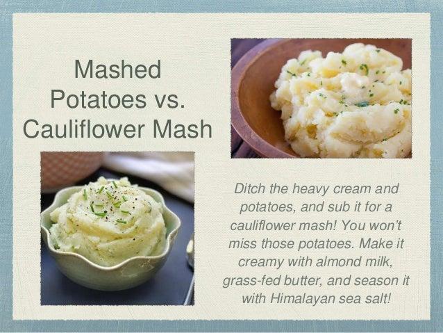 how to make whipped cauliflower