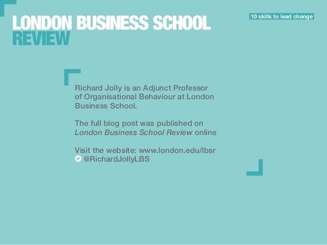 London business school application essays