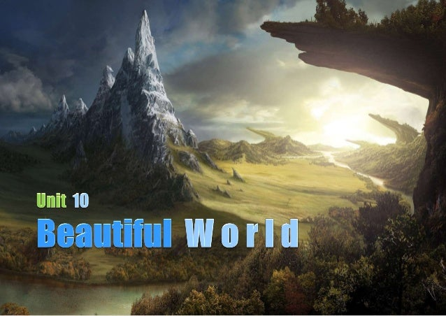 1  Video - GEOGRAPHICAL FEATURES 2  Reading - GEOGRAPHICAL TRIVIA 3  Listening - SAVING THE WORLD 4  Writing - Guess !...