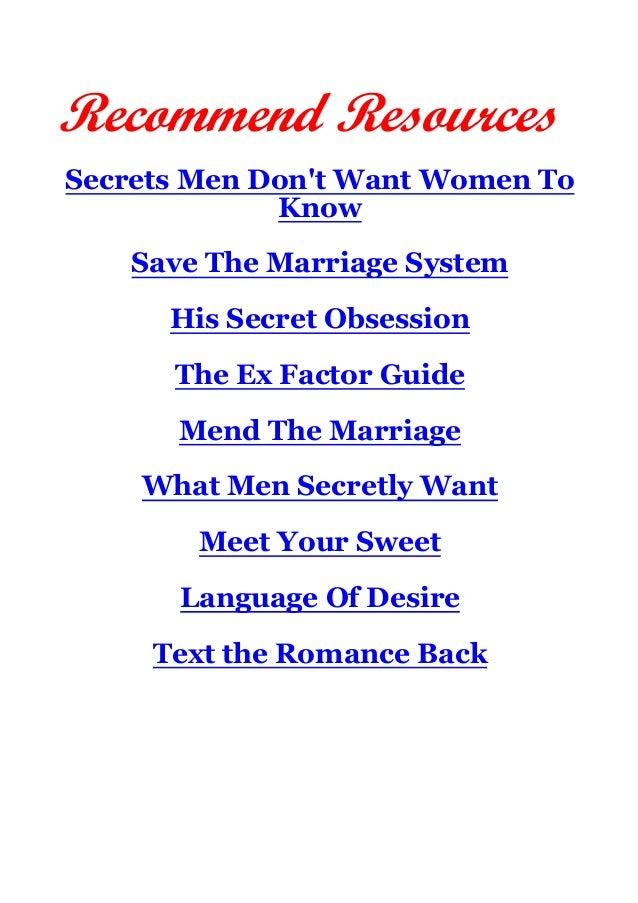 Spells to get your ex back, 7 proven psychological tricks