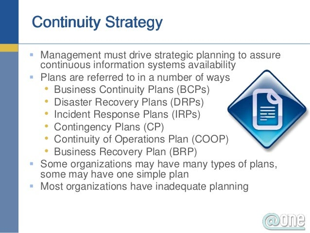 How does a home based business plan for business continuity? (part 1)