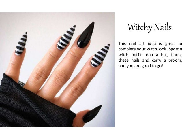 10 Spooky Goth Nail Art Ideas