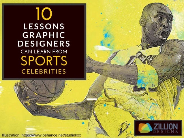 10 Lessons Graphic Designers Can Learn From Sports Celebrities