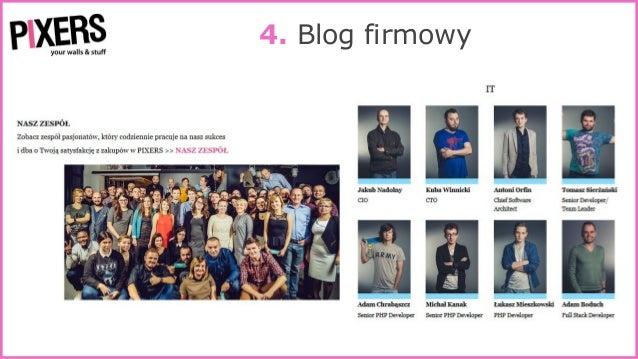 4. Blog firmowy