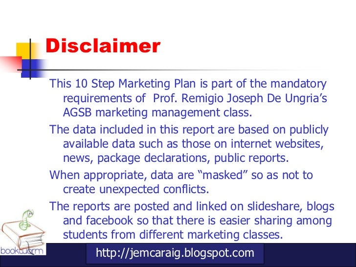 10 step marketing plan Slide 2