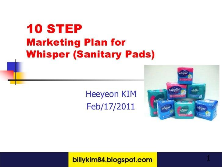 10 step marketing plan -  heeyeon kim
