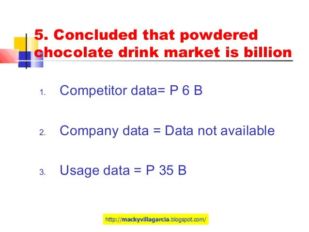 milo philippines marketing plan Marketeam nestle activity 4e 1 explanation of the structure of the plan actual situation market consumer price/promotion product/packaging análisis dafo.