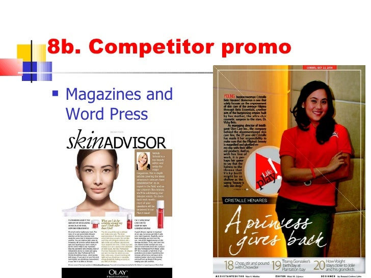 olay marketing plan Procter & gamble is plotting to step up its assault on the skincare market with the launch of an olay sub-brand, targeting the premium end of the market.