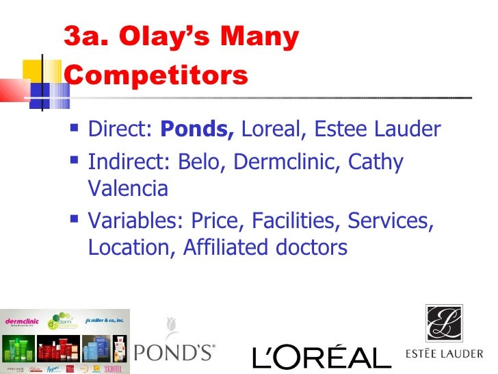 olay marketing plan Marketing plan the information for this article was derived from many sources, including michael porter's book competitive advantage and the works of philip kotler concepts addressed include 'generic' strategies and strategies for pricing, distribution, promotion, advertising and market segmentation.