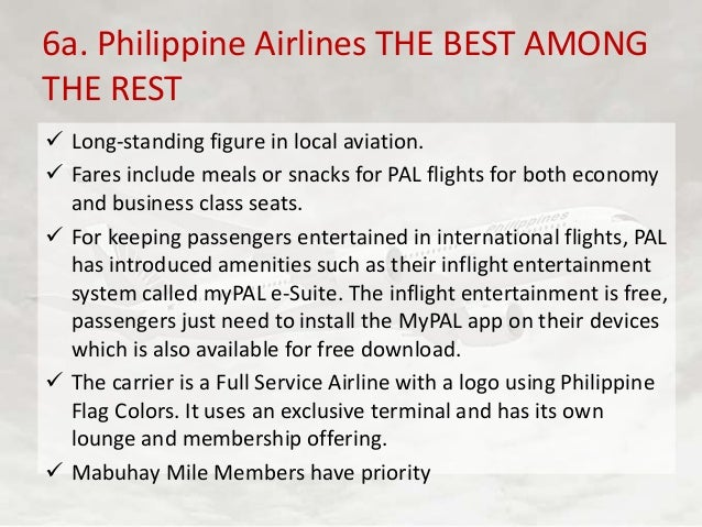 target market of philippine airlines
