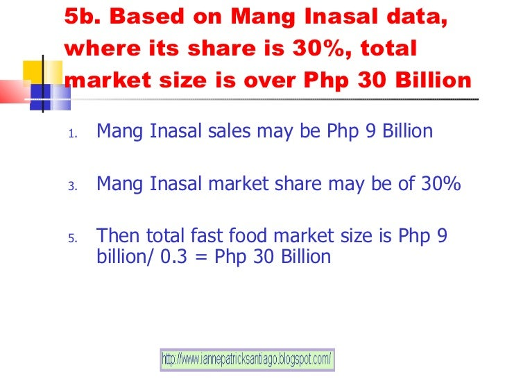 jollibee acquire mang inasal Manila -- homegrown fast-food giant jollibee foods corp (jfc) has taken full ownership of barbeque fastfood chain, mang inasal this, after jfc purchased the.