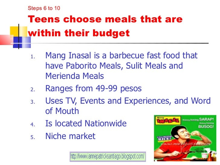 proposed recommendation of mang inasal Learn more about mang inasal and its history, mission, and pursuit of customer  satisfaction.