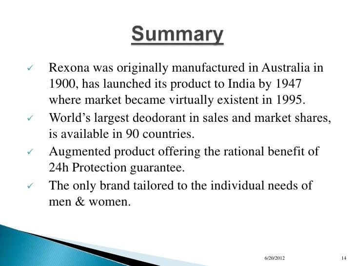 rexona advertising